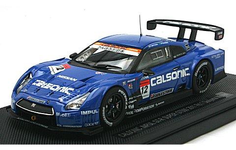 カルソニック インパル GT-R スーパーGT500 2001 Rd.1 岡山ウイナー (1/43 エブロ44653)