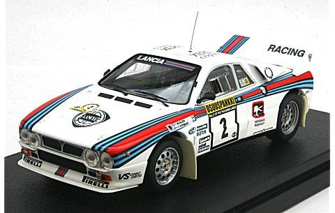 ランチア 037 ラリー No2 1983 1000湖ラリー (1/43 hpiレーシング8285)