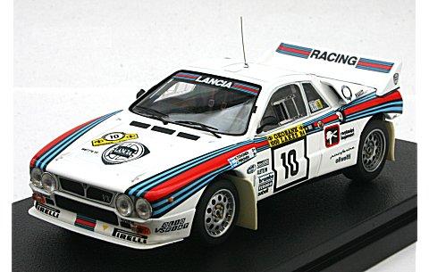 ランチア 037 ラリー No10 1984 1000湖ラリー (1/43 hpiレーシング8286)