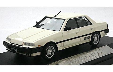 スカイライン セダン 2000 ターボ インタークーラー RS-X 1984 ホワイト (1/43 ハイストーリーHS048WH)