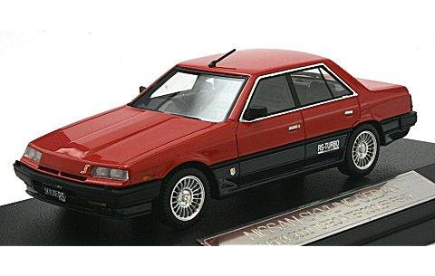 スカイライン セダン 2000 ターボ インタークーラー RS-X 1984 レッド (1/43 ハイストーリーHS048RE)