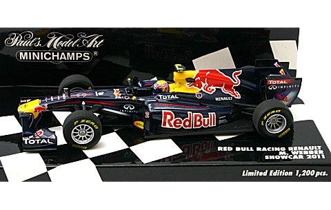 レッドブル レーシング M・ウェバー ショーカー 2011 (1/43 ミニチャンプス410110072)