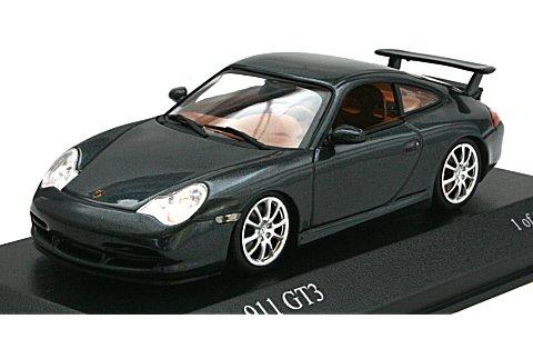 ポルシェ 911 GT3 2003 グレーM (1/43 ミニチャンプス400062025)