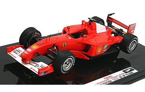 フェラーリ F2001 ハンガリーGP 2001 M・シューマッハ (1/43 マテルMT8374V)