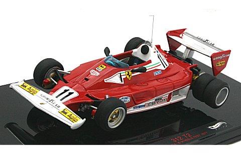 フェラーリ 312 T2 1977 テスト 6輪ホイール ニキ・ラウダ (1/43 マテルMT8380V)