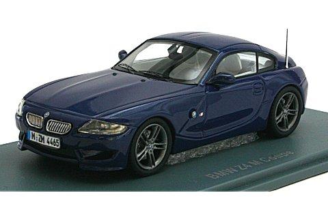 BMW Z4 クーペ ブルー 2009 (1/43 ネオNEO44465)