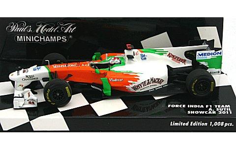 フォース インディア F1チーム A・SUTIL ショーカー 2011 (1/43 ミニチャンプス410110084)
