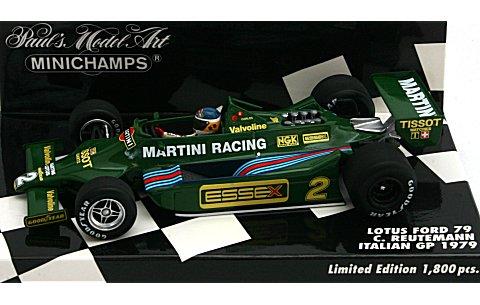 ロータス フォード 79 チームロータス イタリアGP 1979 (1/43 ミニチャンプス400790102)
