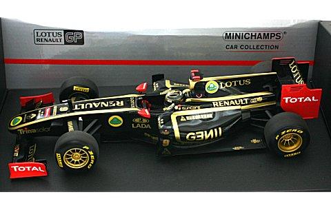 ロータス ルノー GP N・ハイドフェルド 2011 ショーカー (1/18 ミニチャンプス150110079)