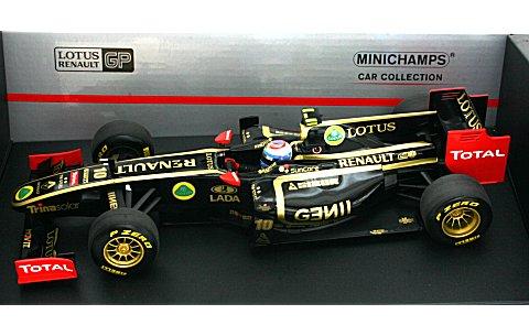 ロータス ルノー GP V・ペトロフ 2011 ショーカー (1/18 ミニチャンプス150110080)
