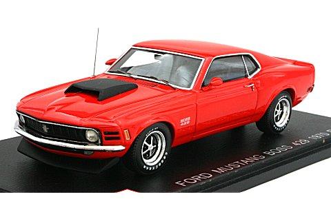 フォード マスタング BOSS 429 1970 レッド (1/43 ポストホビーPS003B)
