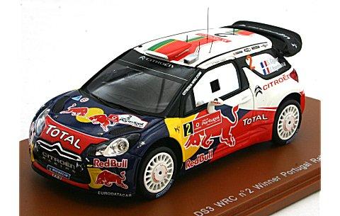 シトロエン DS3 2011 WRC ポルトガルラリー優勝 No2 (1/43 スパークモデルS3307)