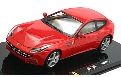フェラーリ FF レッド (エリートシリーズ) (1/43 マテルMT1187W)