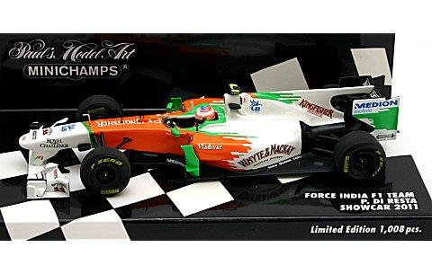 フォース インディア PAUL DI RESTA ショーカー 2011 (1/43 ミニチャンプス410110085)