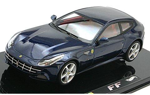 フェラーリ FF ブルー (エリートシリーズ) (1/43 マテルMT1189W)