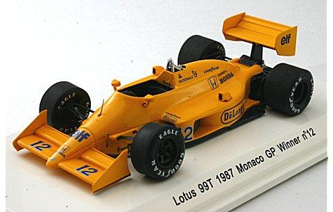 ロータス 99T 1987 モナコGP 優勝 No12 (1/43 レーヴコレクションR70181)