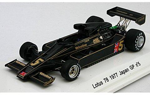 ロータス 78 1977 日本GP No5 M・Andretti (1/43 レーヴコレクションR70161)