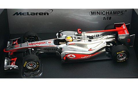 ボーダフォン マクラーレン メルセデス L・ハミルトン ショーカー 2011 (1/18 ミニチャンプス530111873)