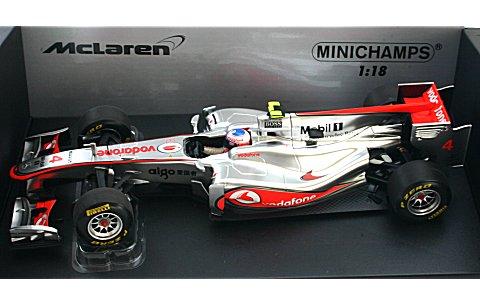ボーダフォン マクラーレン メルセデス J・バトン ショーカー 2011 (1/18 ミニチャンプス530111874)