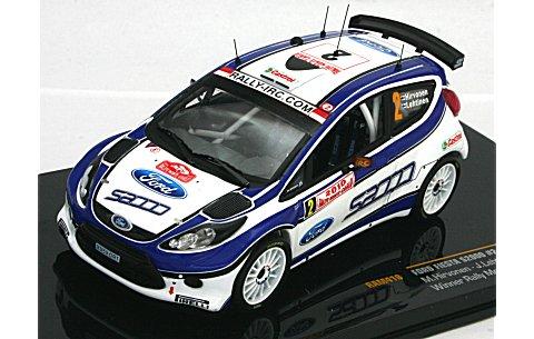 フォード フィエスタ S2000 2010 モンテカルロラリー優勝 No2 (1/43 イクソRAM418)