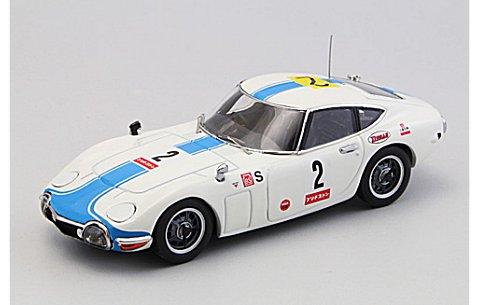 トヨタ 2000GT 1967 富士24時間レース No2 (1/43 エブロ44628)