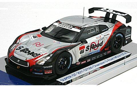 エスロード モーラ GT-R スーパーGT 2011 GT500 チャンピオン (1/43 エブロ44657)
