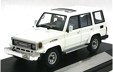 トヨタ ランドクルーザー 70 1990 ホワイト (1/43 ハイストーリーHS051WH)