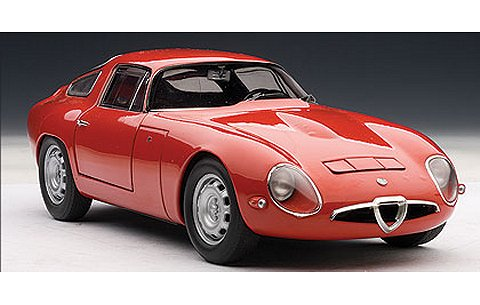 アルファロメオ TZ 1963 レッド (1/18 オートアート70196)