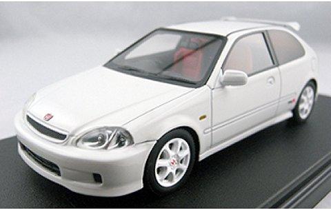 ホンダ シビック Type-R (EK9) ホワイト (1/43 フロンティアートF008-02)