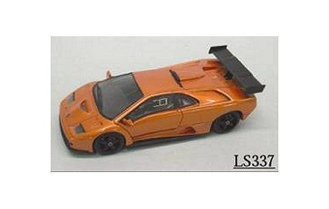 ランボルギーニ ディアブロ GTR 1999 Mオレンジ (1/43 ルックスマートLS337B)