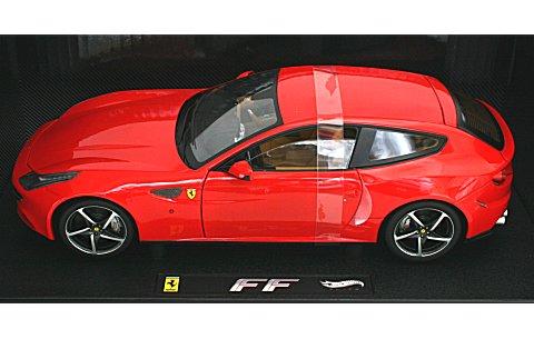 フェラーリ FF レッド (エリートシリーズ) (1/18 マテルMT1105W)