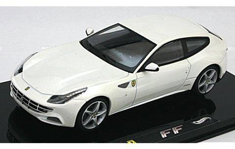 フェラーリ FF ホワイト (エリートシリーズ) (1/43 マテルMT1119W)