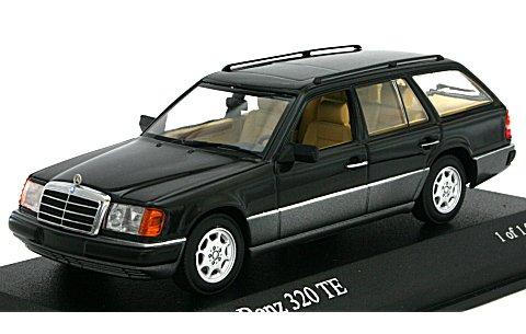 メルセデスベンツ 300 TE ブレーク (W124) 1990 ブラックM (1/43 ミニチャンプス400037011)