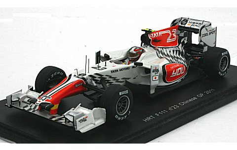 HRT F111 No23 2011 中国GP (1/43 スパークモデルS3017)