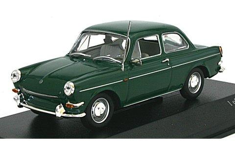 フォルクスワーゲン 1600 1966 グリーン (1/43 ミニチャンプス430055305)