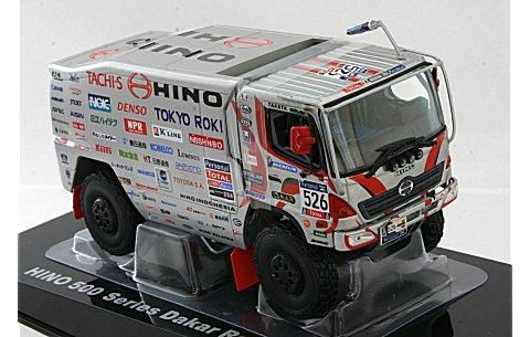 日野 レンジャー 2号車 2011 ダカールラリー トラック部門クラス優勝車 No526 (1/43 ノレブ518809)