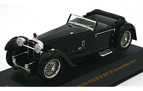 ダイムラー ダブルシックス 50 コンバーチブル 1931 ブラック (1/43 イクソMUS040)