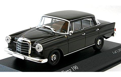 メルセデスベンツ 190 (W110) 1961 ブラウン (1/43 ミニチャンプス400037202)