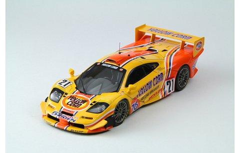 イエローコーン Mclaren F1 GTR 1996 JGTC No21 (1/43 エブロ×hpiレーシング44672)