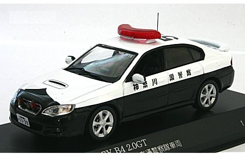 スバル レガシィ B4 2.0GT 2007 神奈川県警察高速道路交通警察隊車両(516) (1/43 レイズH7430708)