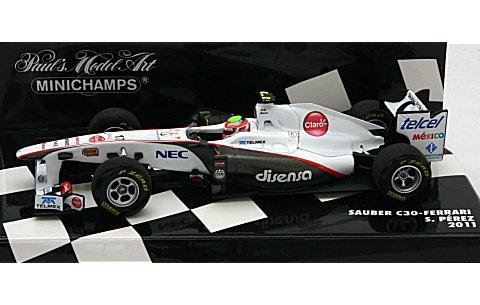 ザウバー F1チーム C30 S・ペレス 2011 (1/43 ミニチャンプス410110017)