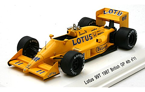ロータス 99T 1987 イギリスGP 4位 No11 (1/43 レーヴコレクションR70182<br /> )