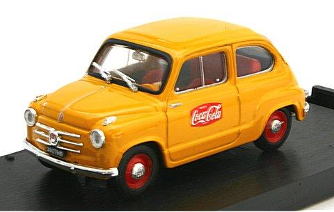 フィアット 600 コカ・コーラ広告宣伝車両 1955 (1/43 ブルムR491)