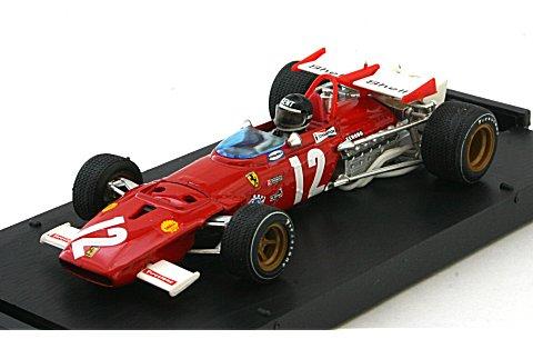 フェラーリ 312B 1970 オーストリアGP No12 フィギュア付 (1/43 ブルムR312-CH)