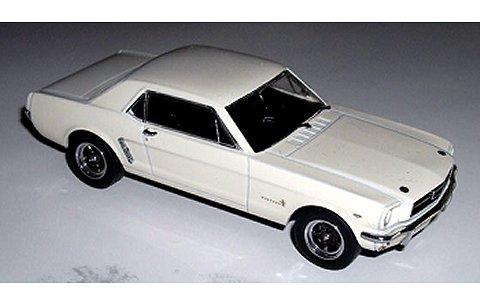 フォード マスタング ホワイト (1/43 エイペックスレプリカズAR0204)
