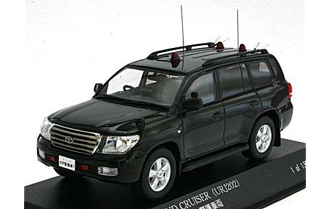 トヨタ ランドクルーザー (URJ202) 2010 警察本部警備部要人警護車両 (1/43 レイズH7431001)