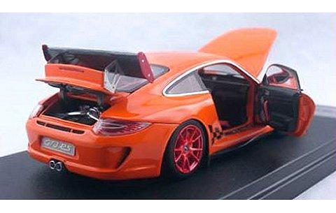 ポルシェ 911 (997) GT3 RS オレンジ フル開閉モデル (1/43 フロンティアートFA001-09)