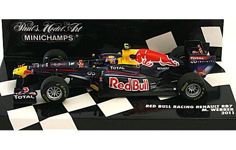 レッドブル レーシング RB7 M・ウェバー 2011 (1/43 ミニチャンプス410110002)