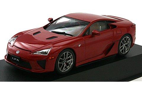 レクサス LFA パールレッド/ホイール:マットブラック (1/43 JコレクションJCP71003RM)