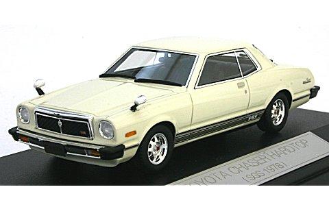 トヨタ チェイサー ハードトップ SGS 1978 キャッスルホワイト (1/43 ハイストーリーHS055WH)